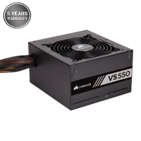 CORSAIR VS550 SMPS – 550 WATT PSU WITH ACIVE PFC