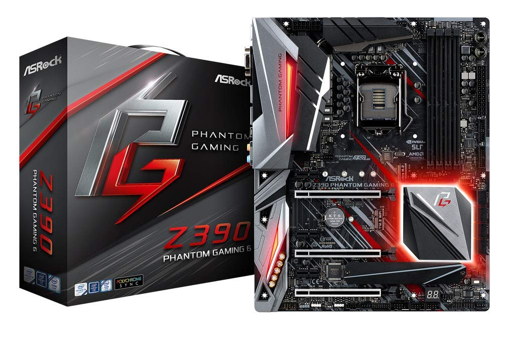 ASRock Z390 Phantom Gaming 6 Motherboard for Desktop