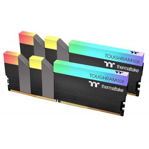 Thermaltake TOUGHRAM RGB 16GB (8GB x 2) DDR4 3600MHz Memory (R009D408GX2-3600C18B)