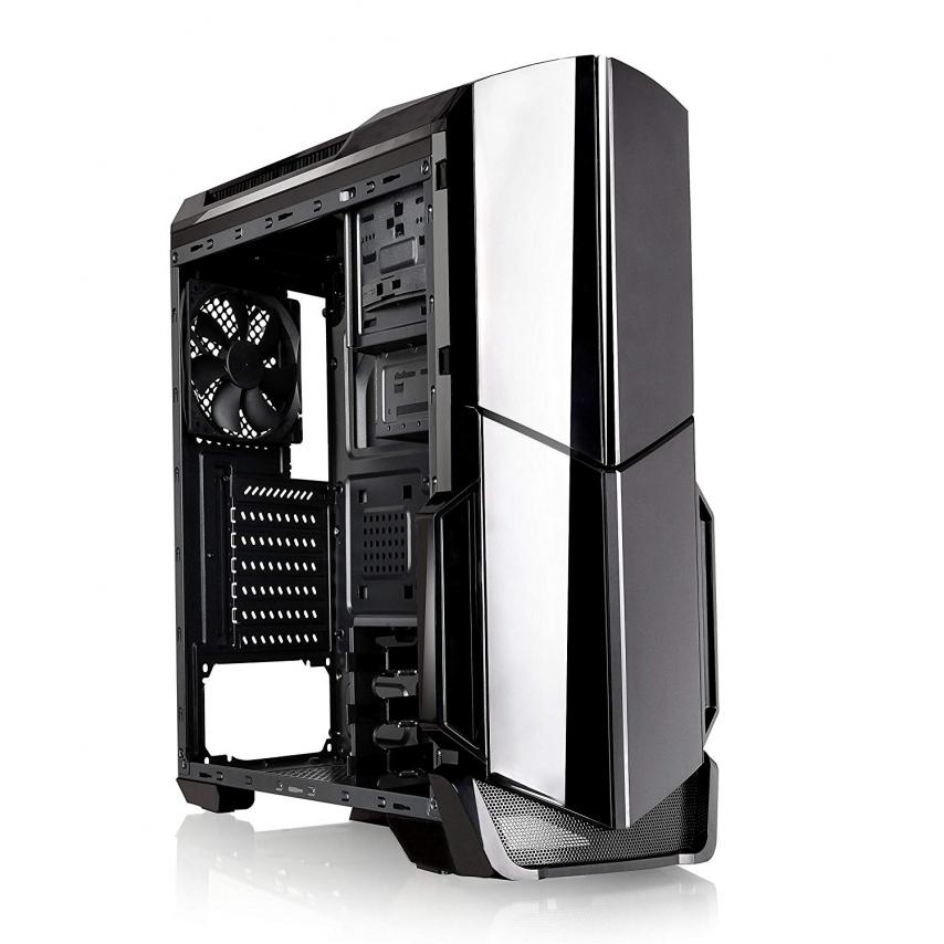 THERMALTAKE VERSA N21 (ATX) MID TOWER CABINET - WITH TRANSPARENT SIDE PANEL (BLACK) at Lowest Price in India