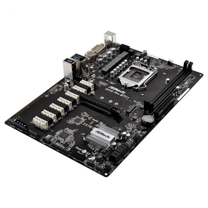 ASRock H110 PRO BTC + Motherboard for Desktop