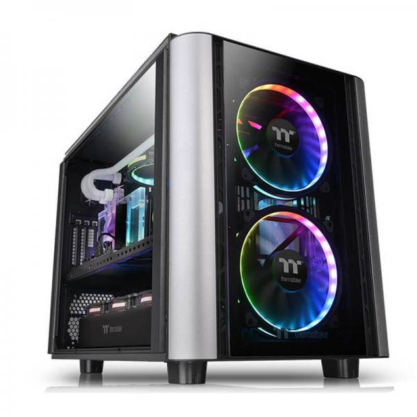 THERMALTAKE LEVEL 20 XT (E-ATX) MID TOWER WITH TEMPERED GLASS SIDE PANEL (BLACK)