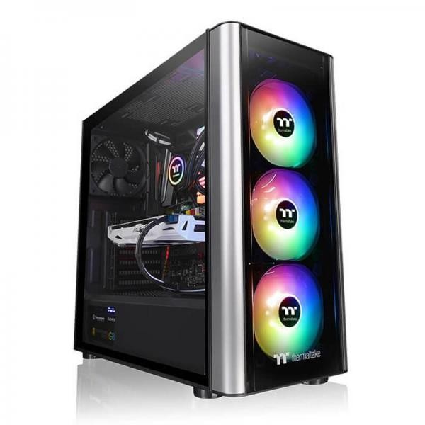 THERMALTAKE LEVEL 20 MT ARGB (ATX) MID TOWER CABINET WITH TEMPERED GLASS PANEL WITH RGB CONTROLLER