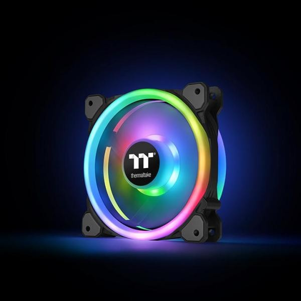 Thermaltake RIING TRIO 12 RGB 3 Fans Pack With Controller
