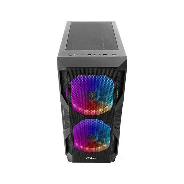 ANTEC NX800 ARGB (E-ATX) MID TOWER CABINET WITH TEMPERED GLASS SIDE PANEL (BLACK)