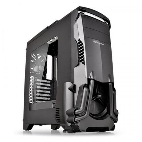THERMALTAKE VERSA N24 ATX MID TOWER CABINET (BLACK) WITH TRANSPARENT SIDE PANEL