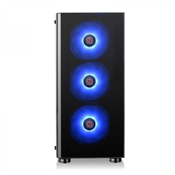 Thermaltake V200 Tempered Glass RGB Edition 12V MB Sync Capable ATX Mid-Tower Chassis