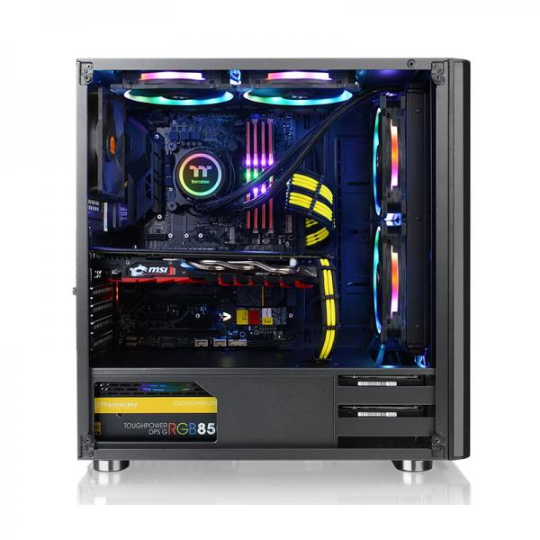 Thermaltake V200 Tempered Glass RGB Edition Mid-Tower Chassis CA-1K8-00M1WN-01