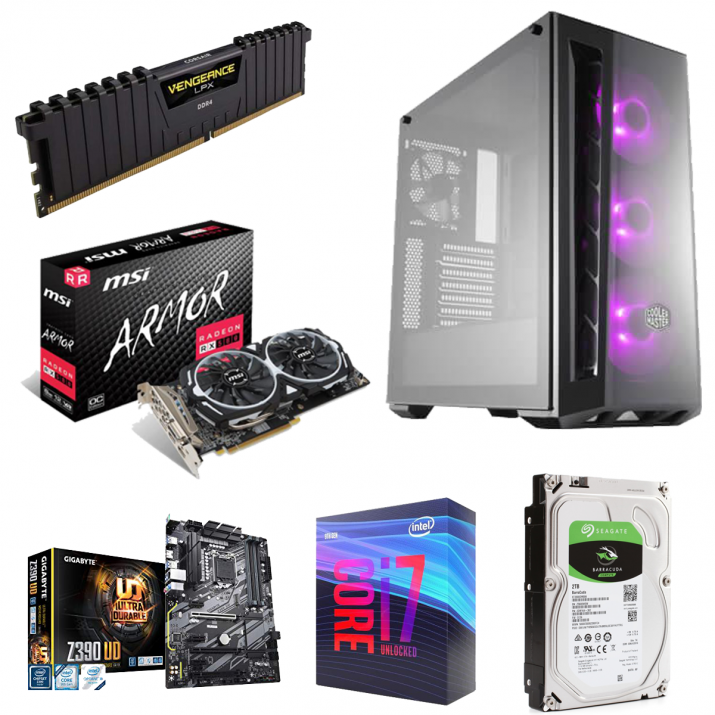 ARMOR Gaming & Video Editing Computer