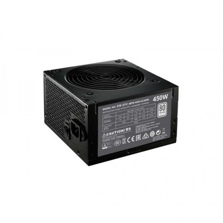 Cooler Master MWE 450W 80 Plus Non-Modular White Series SMPS Power Supply