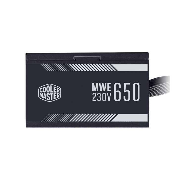 Cooler Master MWE 650W,80+ White 230V A/UK Cable Power Supply