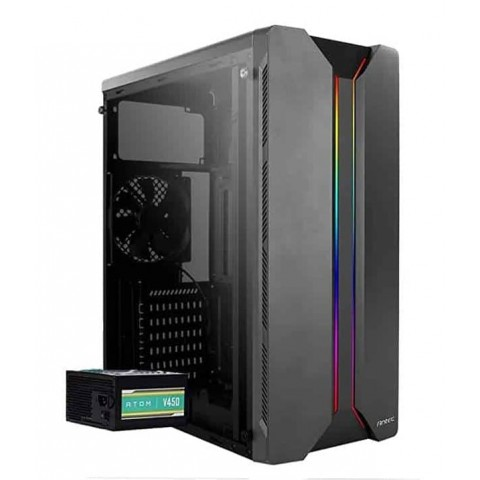 Antec NX1145 Mid Tower Gaming Cabinet with Atom 450W PSU/SMPS