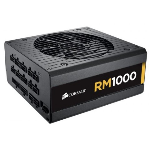 Corsair RM Series RM1000-1000 Watt 80 Plus Gold Certified Fully Modular SMPS