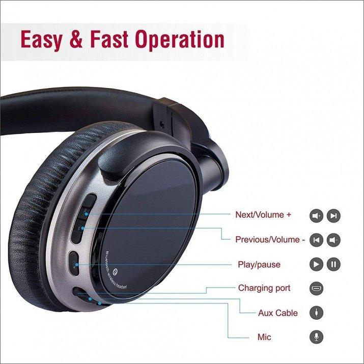 Sound One QY-V6BTL Bluetooth Headphones