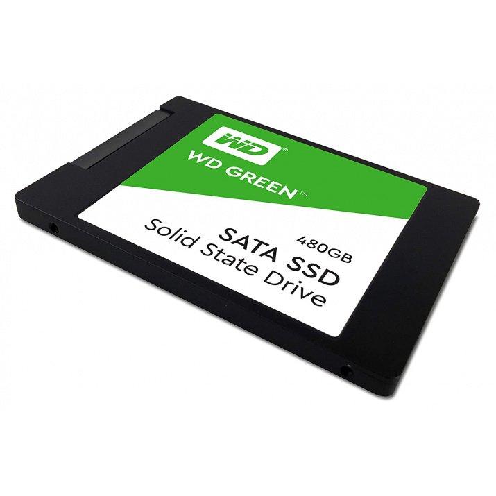 Western Digital WD Green 480 GB 2.5 inch SATA III Internal Solid State Drive (WDS480G2G0A)
