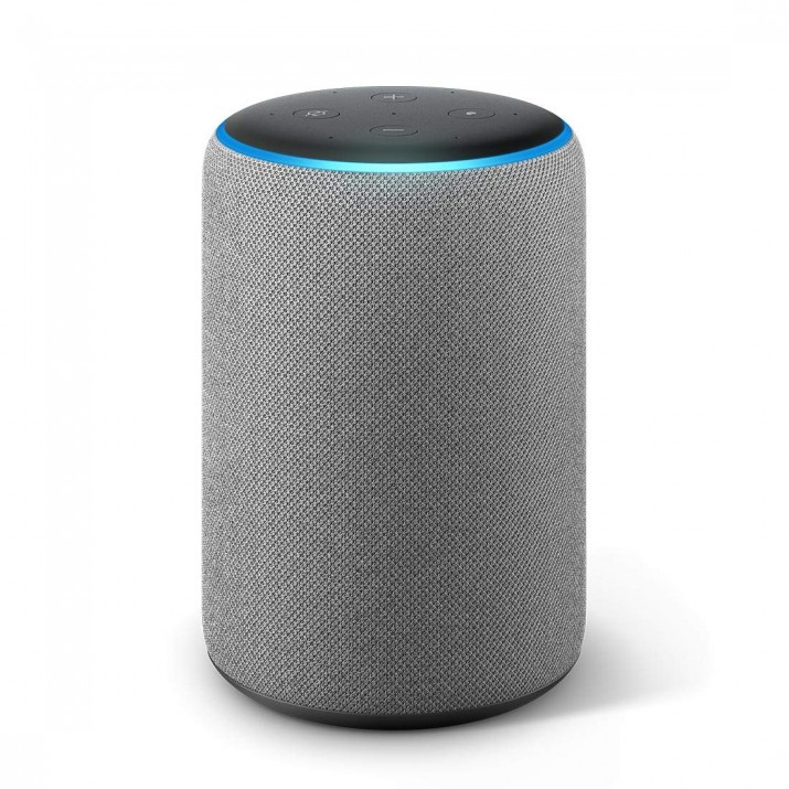 Amazon Echo (3rd Gen) – Improved sound, powered by Dolby (Grey)