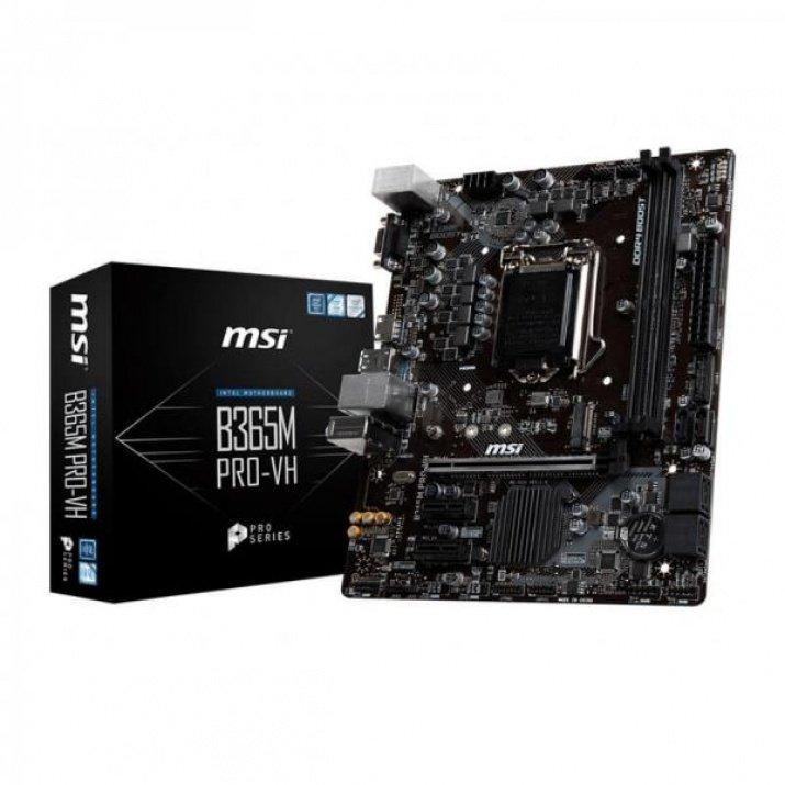 MSI B365M PRO-VH LGA 1151 (Socket H4) Micro ATX Intel B365