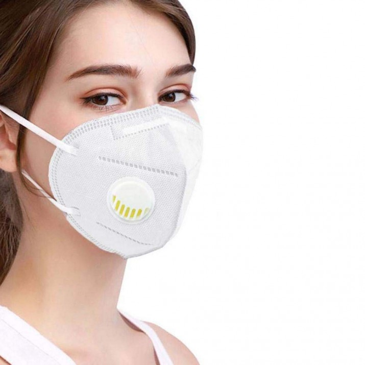 KN95 Reusable Anti Pollution/Bacterial Face Mask with Respirator Valve