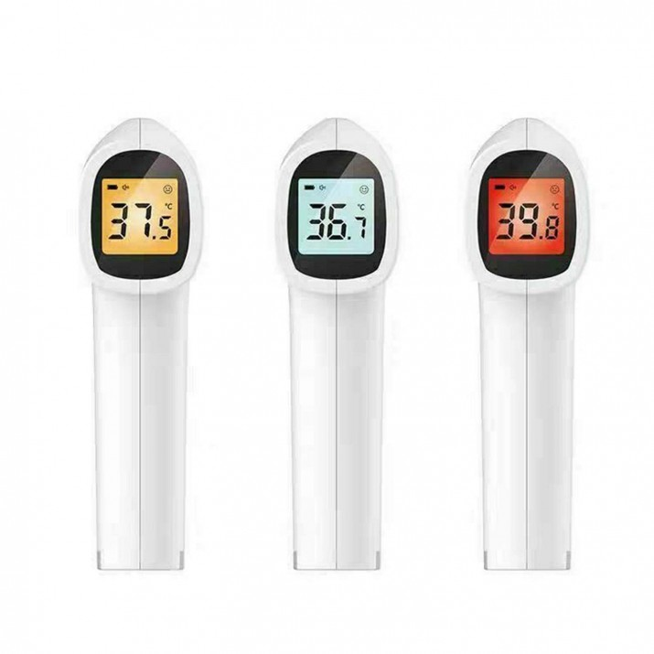 Zoook InfraTemp Forehead Medical Digital Non Contact Infrared (IR) Thermometer - 1 year warranty- Japanese sensor