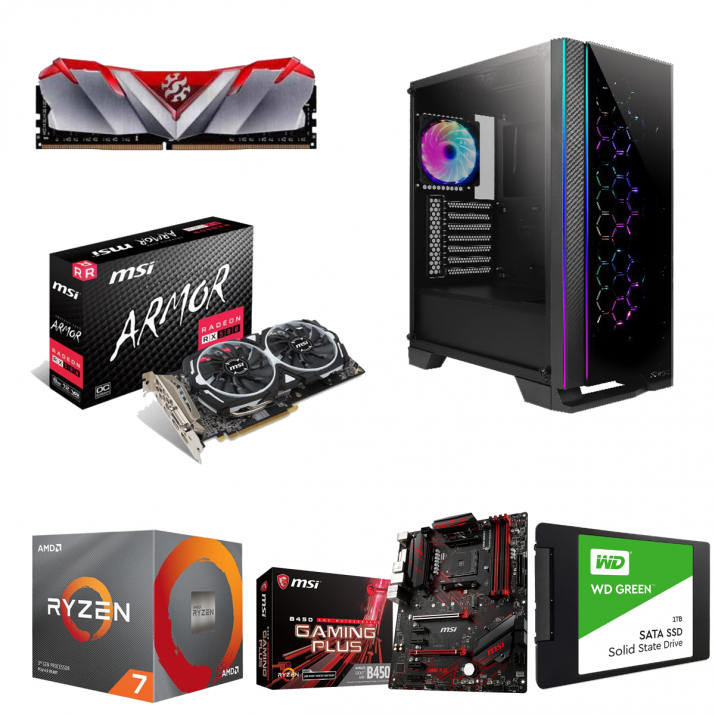 Prizm Lite Gaming & Video Editing Computer