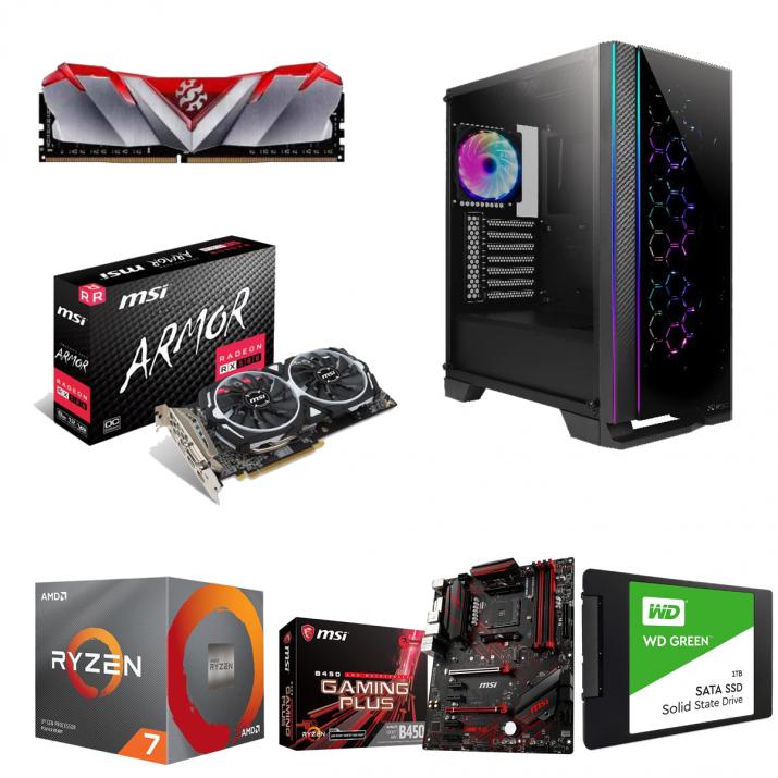 Prizm Lite Gaming & Video Editing Computer