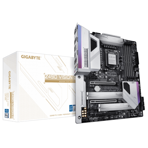 Gigabyte Z490 VISION G (rev. 1.x) LGA 1200 ATX Intel Z490