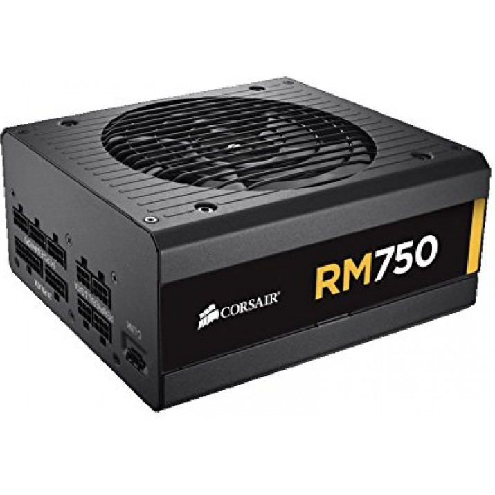 Corsair CP-9020055-NA RM Series RM750 Fully Modular 750 Watt Power Supply Unit