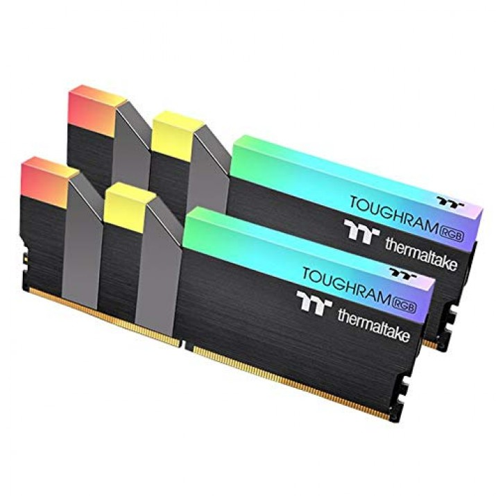 Thermaltake TOUGHRAM RGB 16GB (8GB x 2) 3200 MHz DDR4 Desktop Gaming Memory (R009D408GX2-3200C16A)