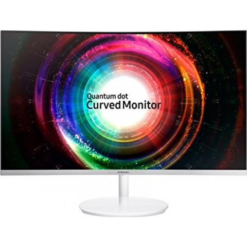 Samsung 27 inch (68.4 cm) Curved QLED Backlit Computer Monitor LC27H711QEWXXL