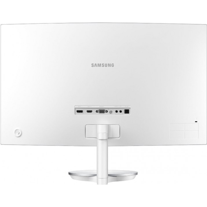 Samsung 27 inch (68.6 cm) Curved Bezel Less LED Backlit Computer Monitor LC27F591FDWXXL