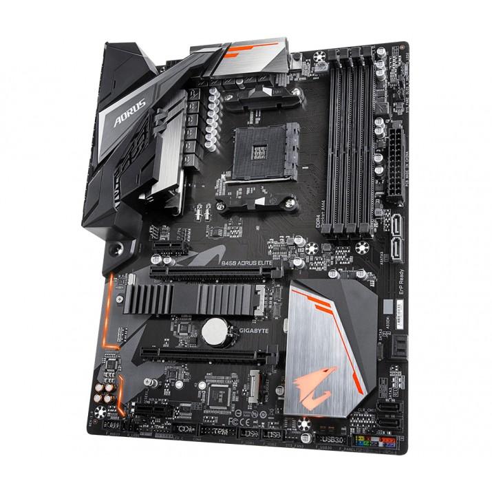 Gigabyte B450 AORUS ELITE motherboard Socket AM4 ATX AMD B450