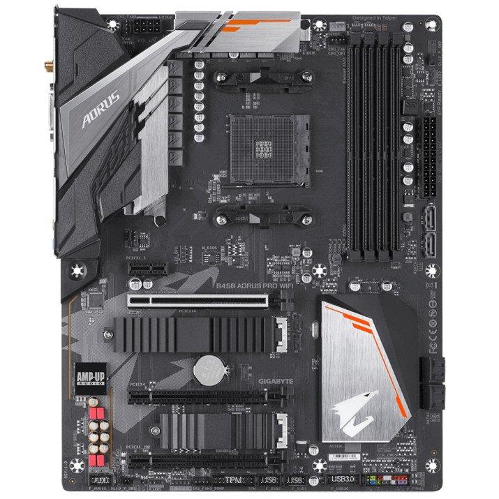 Gigabyte B450 AORUS PRO WIFI (rev. 1.0) Socket AM4 ATX AMD B450