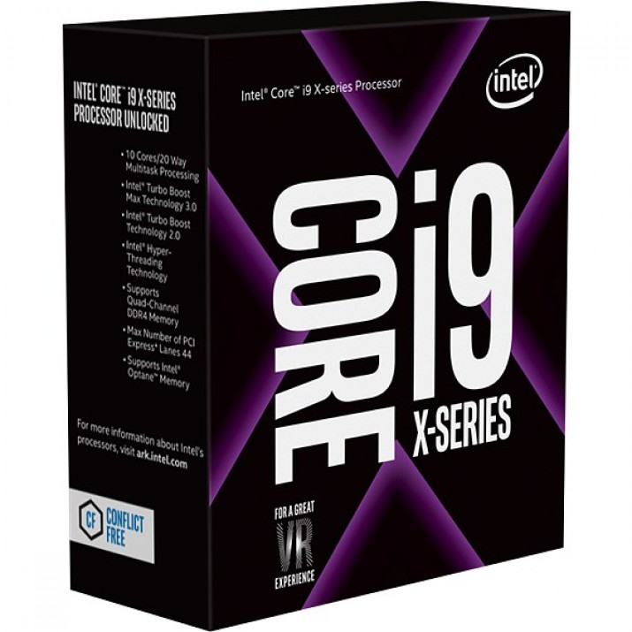 Intel Core i9-9820X processor 3.3 GHz Box 16.5 MB Smart Cache