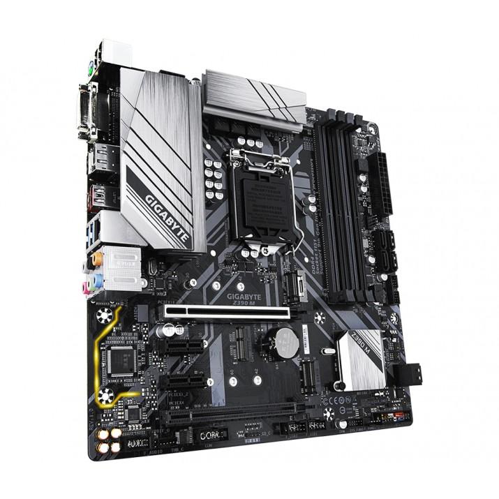 Gigabyte Z390 M motherboard LGA 1151 (Socket H4) Micro ATX Intel Z390