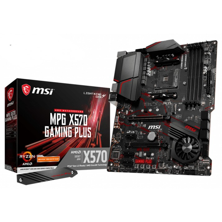 MSI MPG X570 Gaming Plus Socket AM4 ATX AMD X570