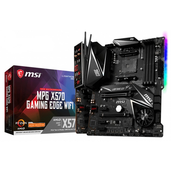 MSI MPG X570 Gaming Edge WIFI Socket AM4 ATX AMD X570