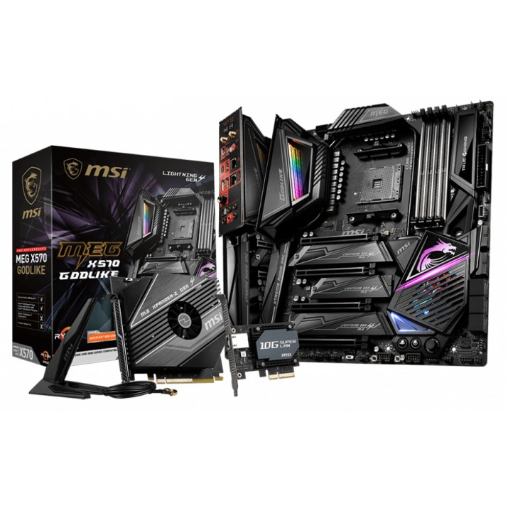 MSI MEG X570 Godlike Socket AM4 Extended ATX AMD X570