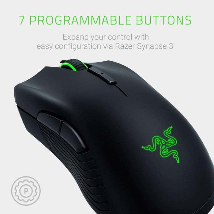 Razer Mamba Right Hand Wireless Gaming Mouse