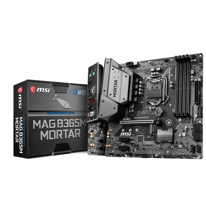 MSI MAG B365M Mortar LGA 1151 (Socket H4) Micro ATX Intel B365