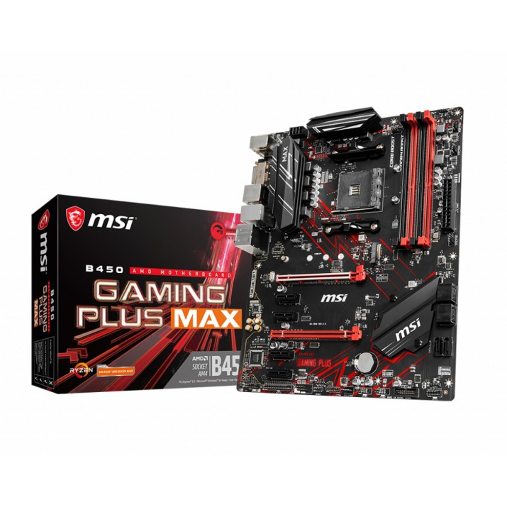 MSI B450 GAMING PLUS MAX Socket AM4 ATX AMD B450