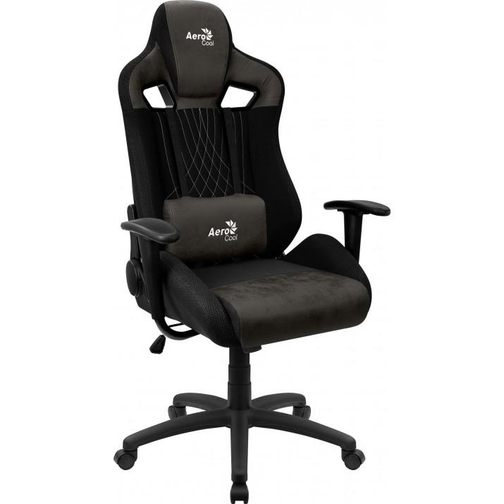 Aerocool EARL AeroSuede Universal gaming chair Black