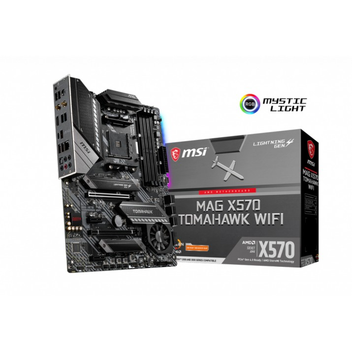 MSI MAG X570 TOMAHAWK WIFI motherboard Socket AM4 ATX AMD X570