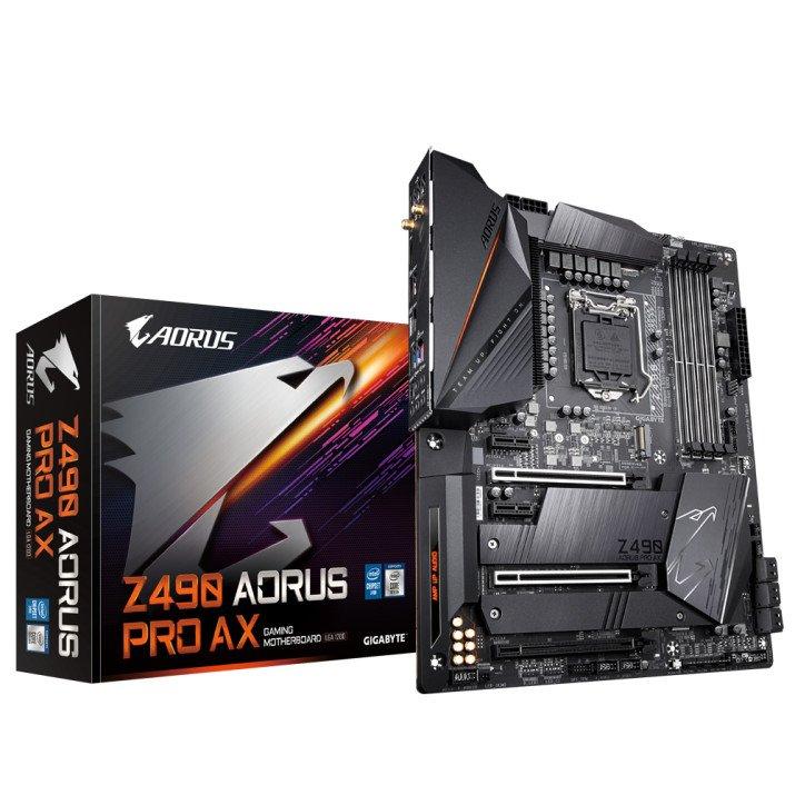 Gigabyte Z490 AORUS PRO AX (rev. 1.x) LGA 1200 ATX Intel Z490