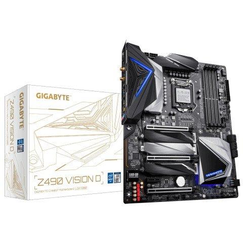 Gigabyte Z490 VISION D (rev. 1.x) LGA 1200 ATX Intel Z490