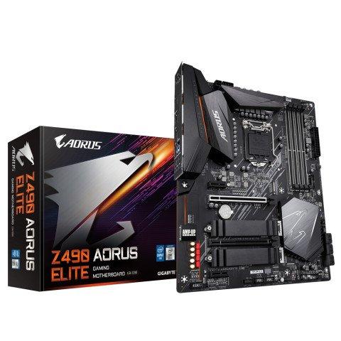 Gigabyte Z490 AORUS ELITE (rev. 1.0) LGA 1200 ATX Intel Z490