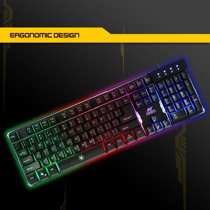 Ant Esports MK700 Pro Backlit Gaming Keyboard