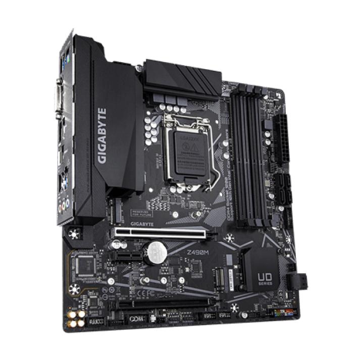 Gigabyte Z490M motherboard LGA 1200 Micro ATX Intel Z490