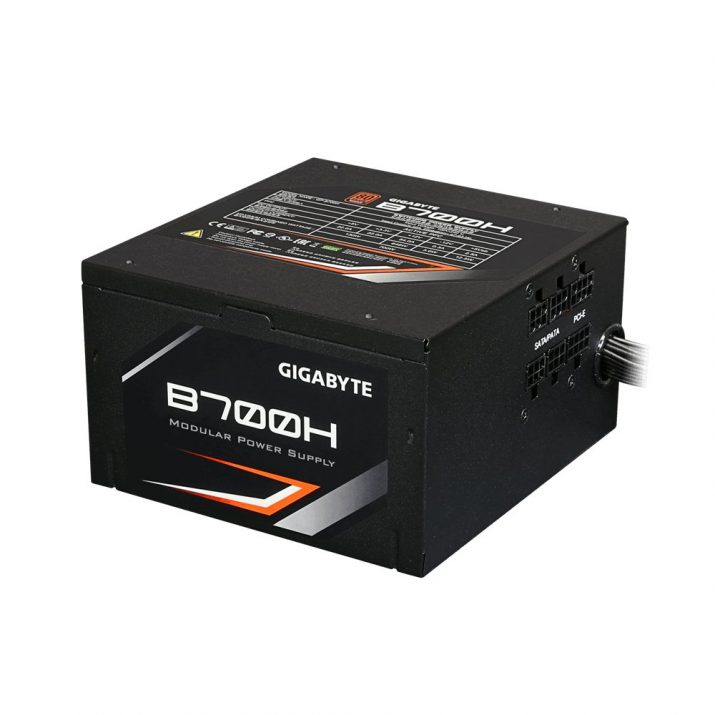 Gigabyte B700H power supply unit 700 W 20+4 pin ATX ATX Black