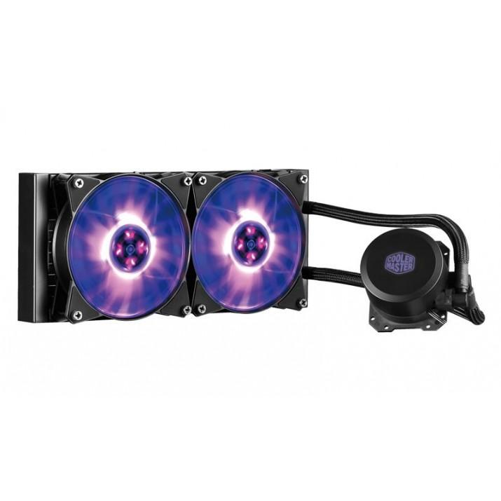 Cooler Master MasterLiquid ML240L RGB computer liquid cooling Processor