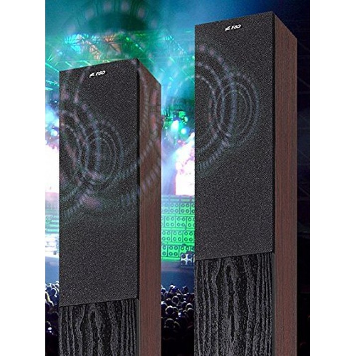 F&D T400X Full Wooden 2.1 Tower Bluetooth Speakers